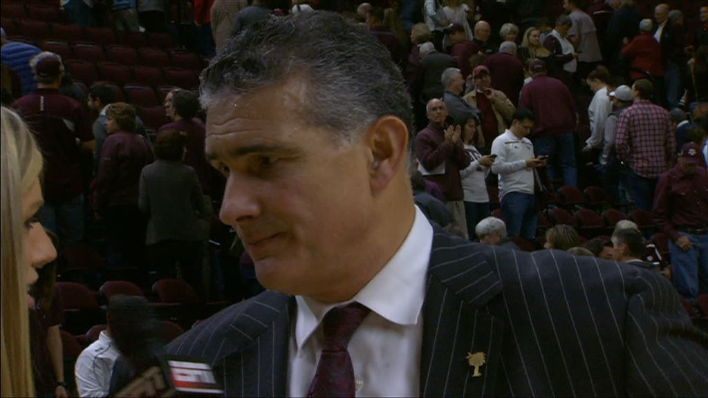 Frank Martin Postgame Interview