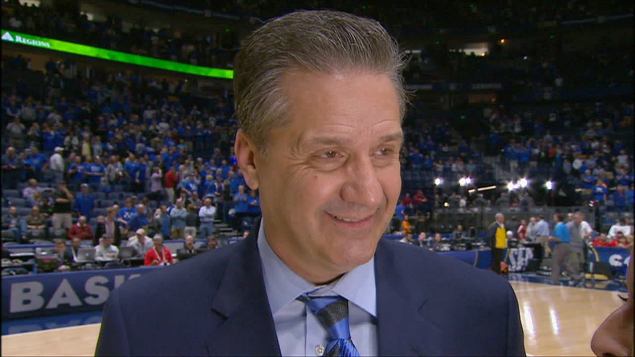 Calipari proud of the Wildcats' win