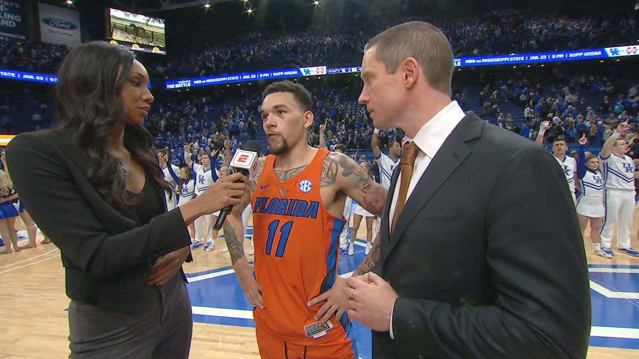 Chiozza reflects on winning in Rupp Arena