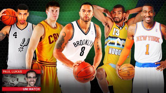 the uni watch 201213 nba season preview