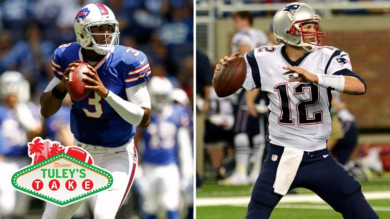 and Tom Brady square off in a Week 1 matchup in Buffalo. Getty Images
