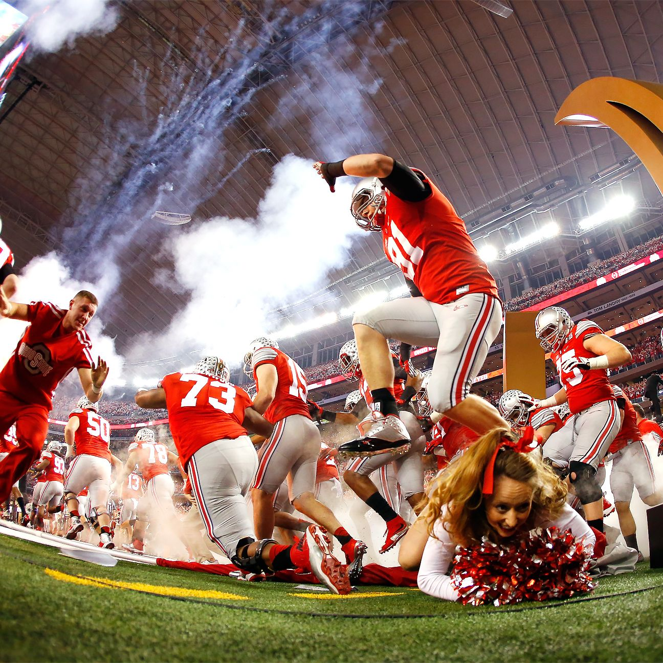 college fb lines college football championships