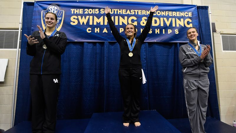 87 SEC athletes at NCAA women's swimming and diving