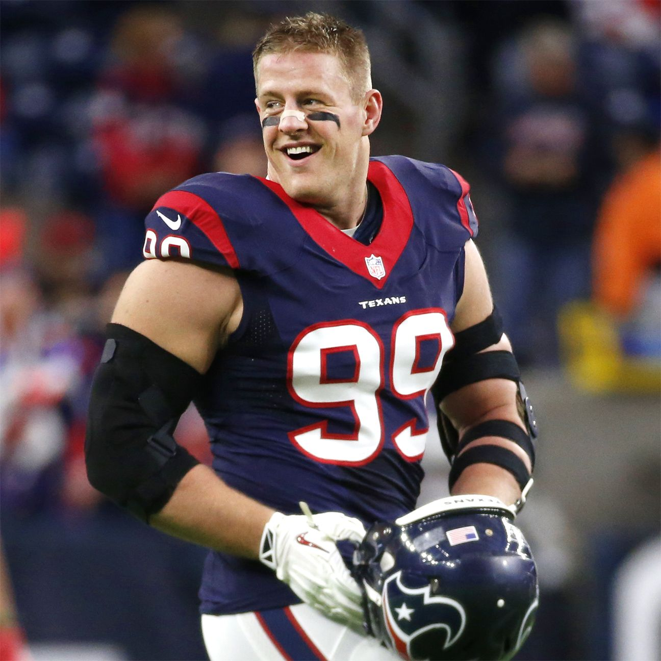 Houston Texans De J J Watt Signs Endorsement Deal With Reebok