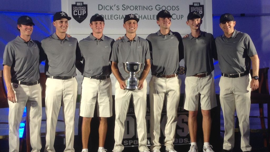 Vandy team, Bama's Shelton win DICK's Collegiate Cup