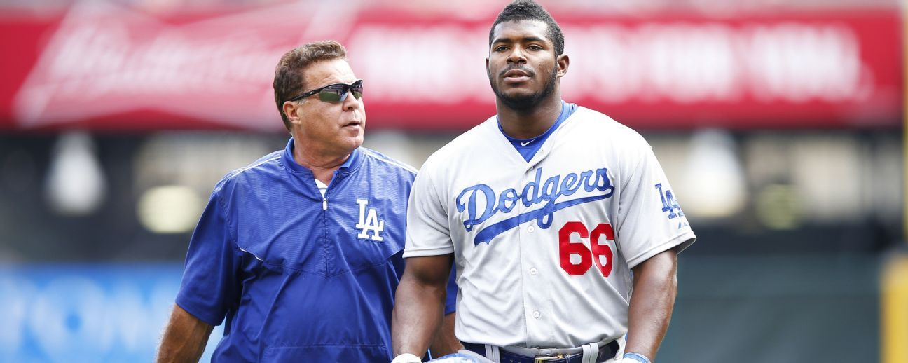 Dodgers want a leaner Yasiel Puig in hopes of preventing ...