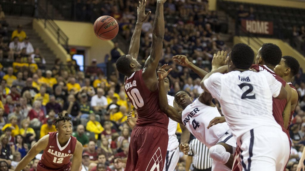 Alabama falls to Xavier in AdvoCare Invitational