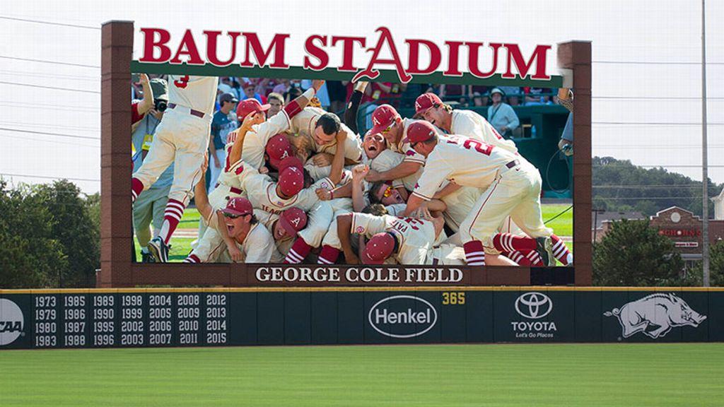 Baum Stadium's MLB-caliber upgrade