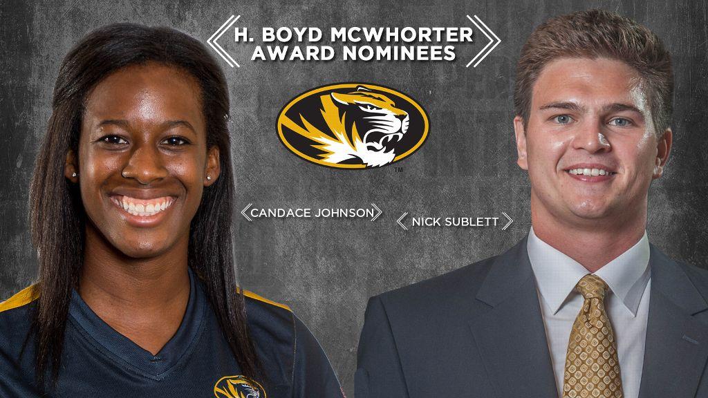 Missouri nominees for McWhorter Scholarships announced
