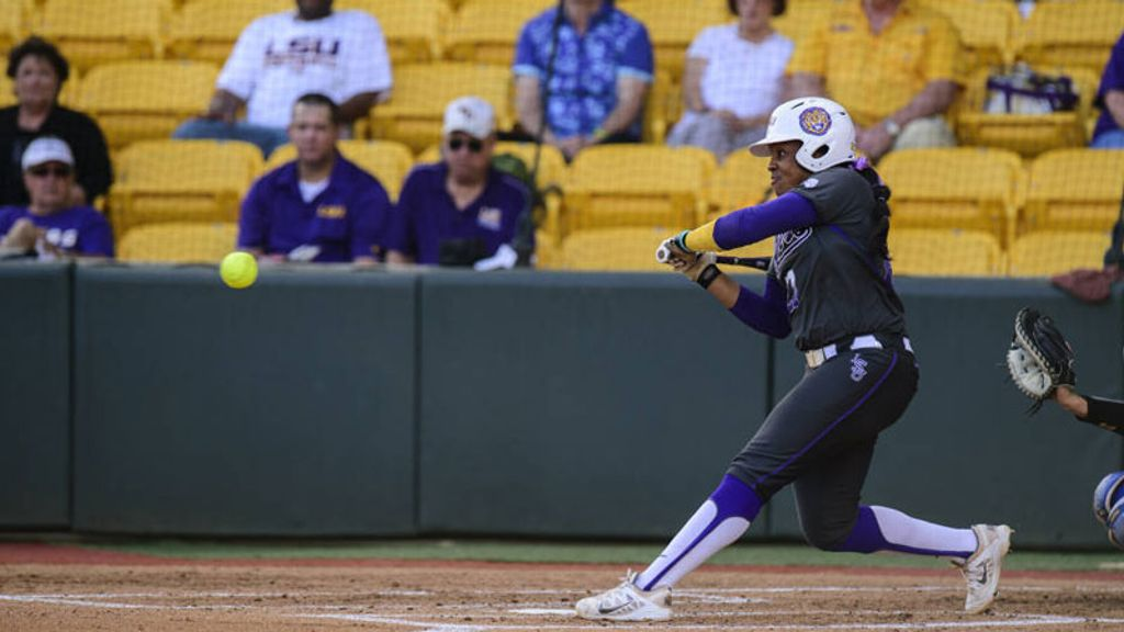 LSU takes suspended opener over Arkansas