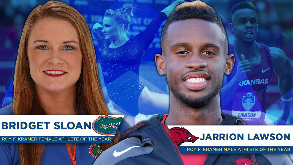 Lawson, Sloan named SEC Athletes of the Year