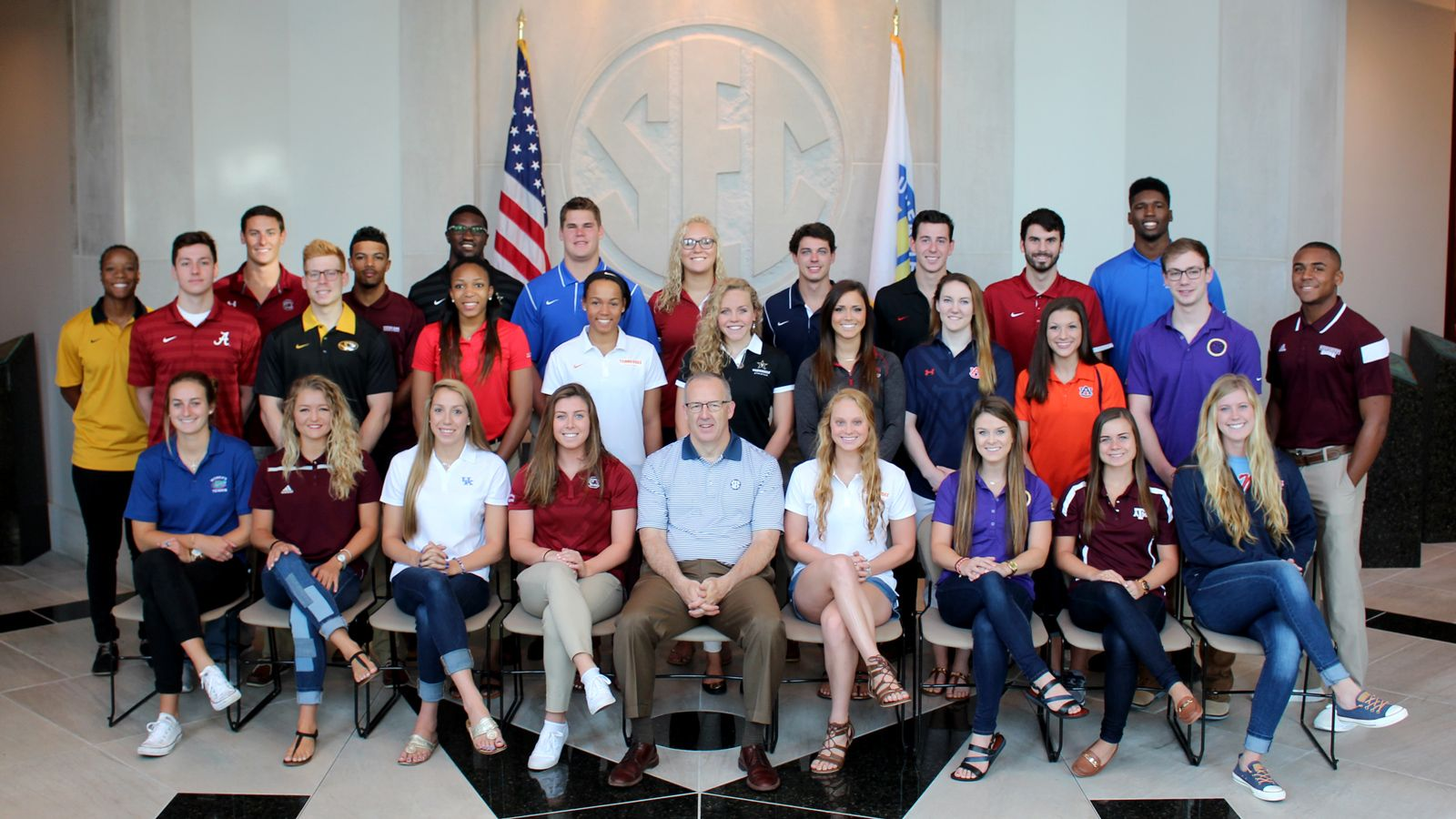 Student-Athlete Advisory Committee holds summer meeting