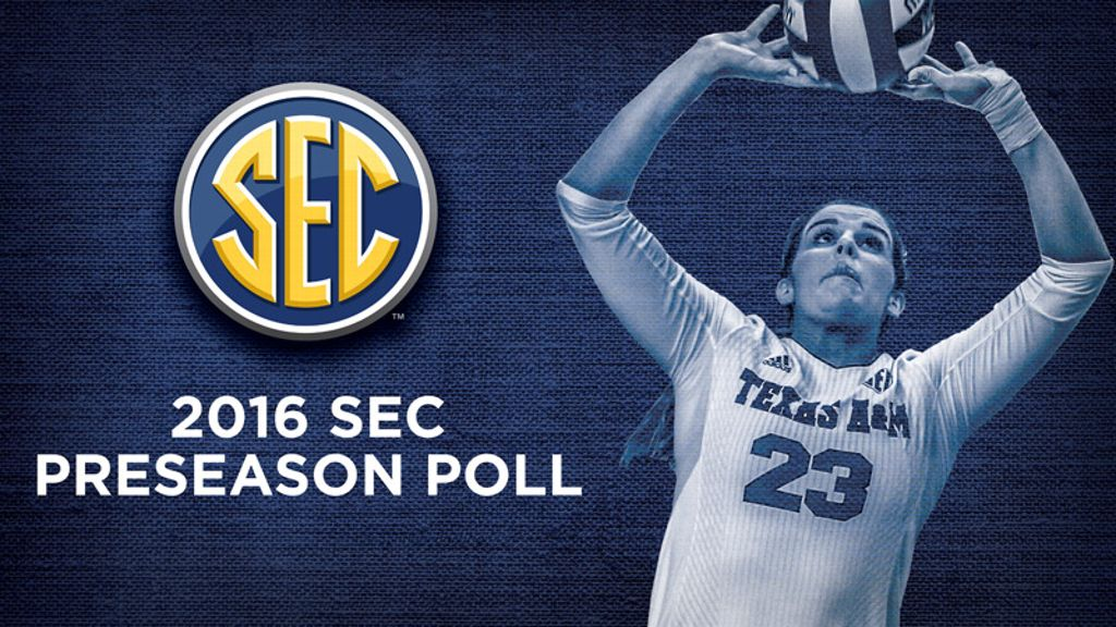 TAMU picked to win 2016 SEC volleyball title