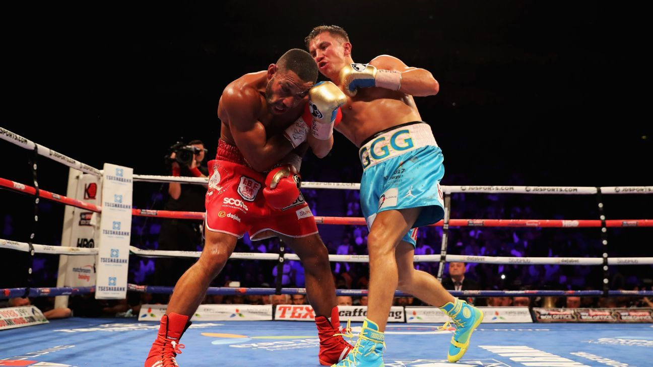 Great Britain's Kell Brook eyes Manny Pacquiao boxing bout ... - photo#2