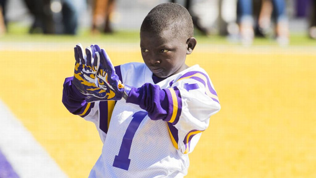 Jarrius Robertson stars in Purple & Gold