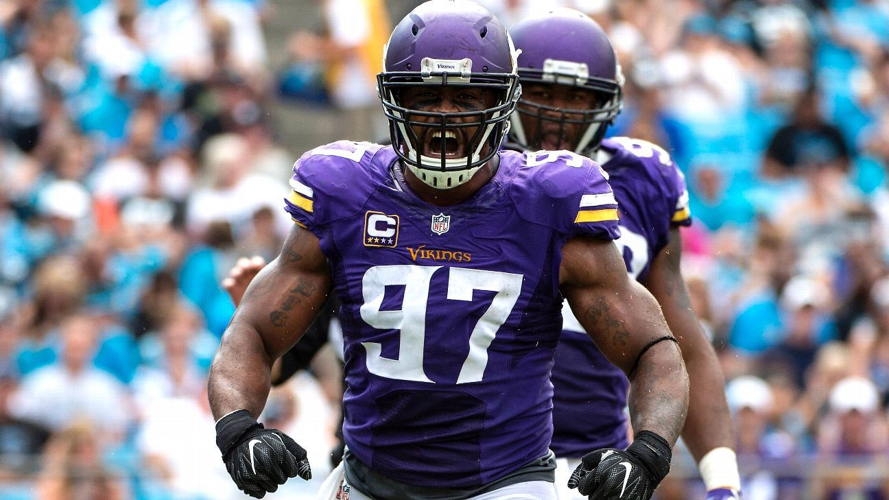 Defensive end Everson Griffen Minnesota Vikings agree on