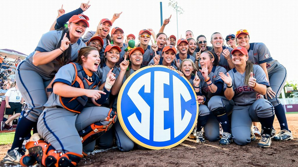 2017 SEC softball television schedule