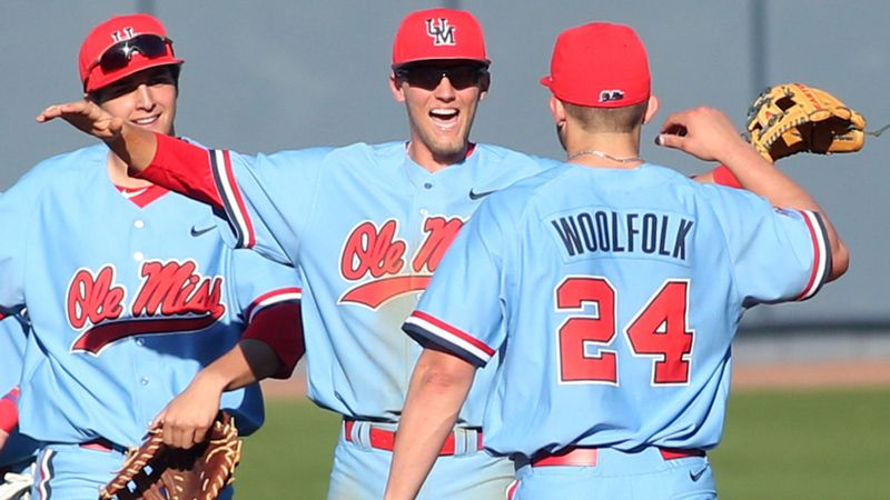 No. 24 Ole Miss cruises to series win