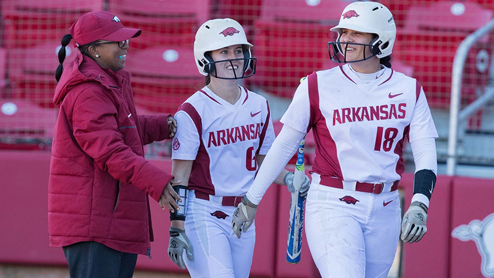 No. 22 Arkansas tops SLU 5-2