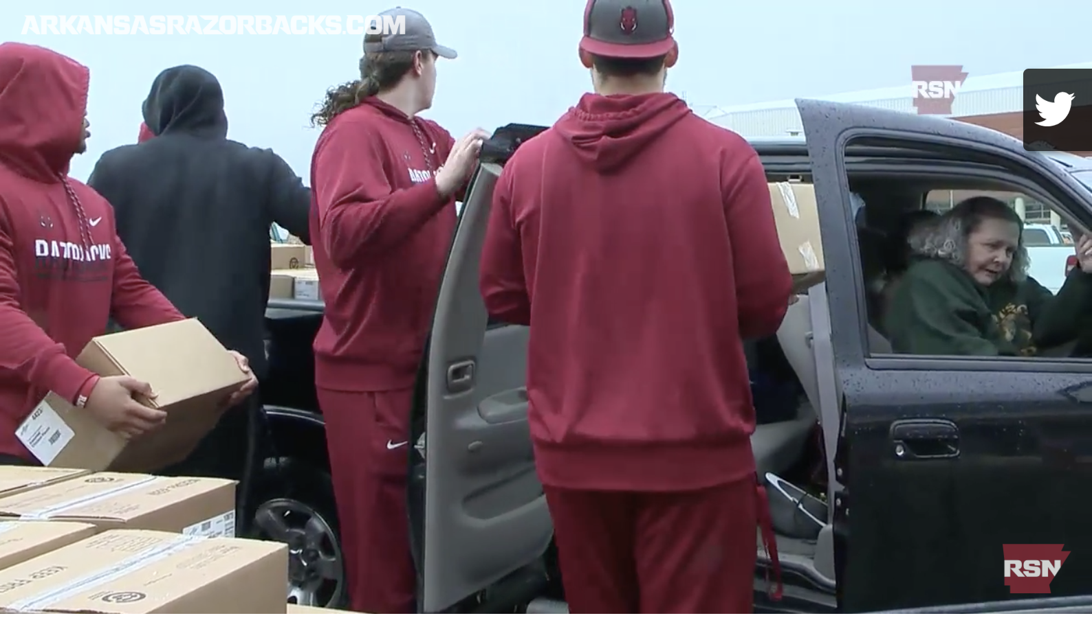 Razorbacks Take Up fight on hunger