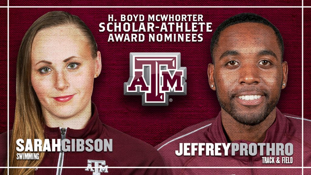 Texas A&M nominees for McWhorter scholarships
