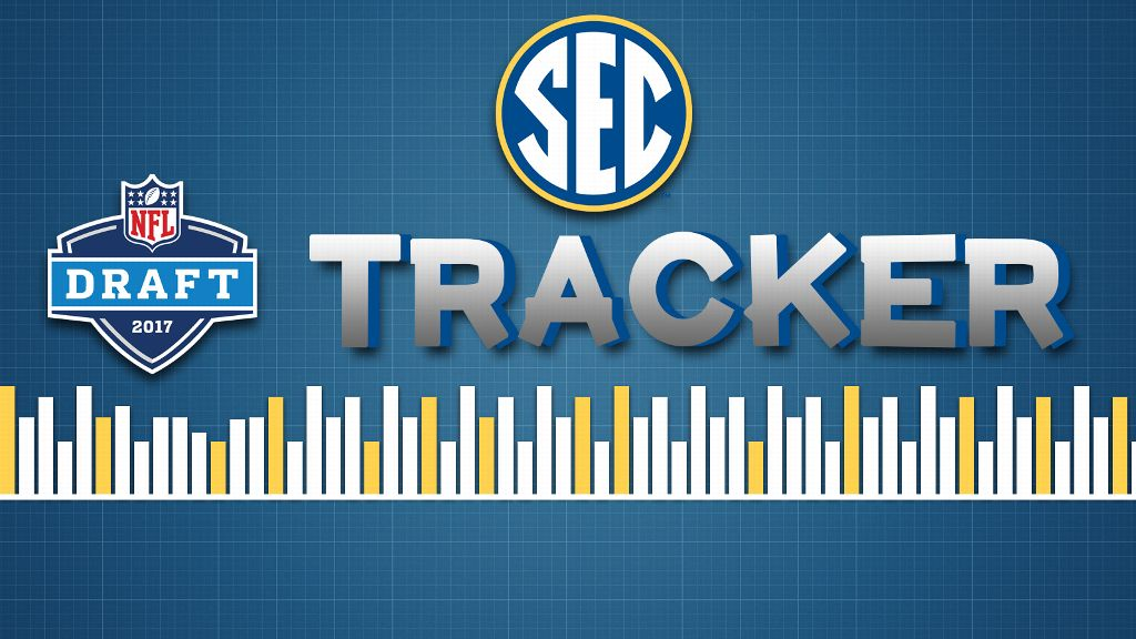 53 players selected from SEC in NFL Draft