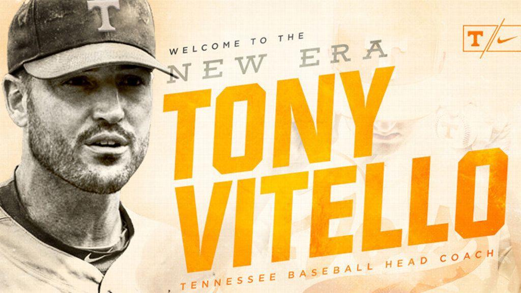 Tony Vitello tabbed to lead Tennessee Baseball