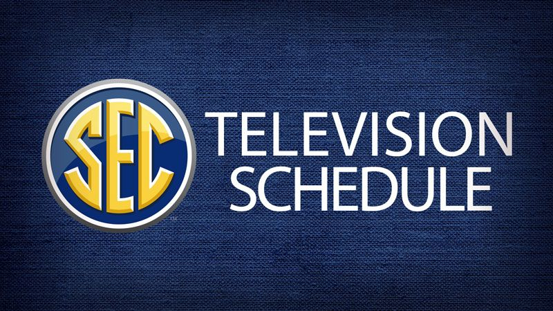 SEC football TV schedule for games of November 3