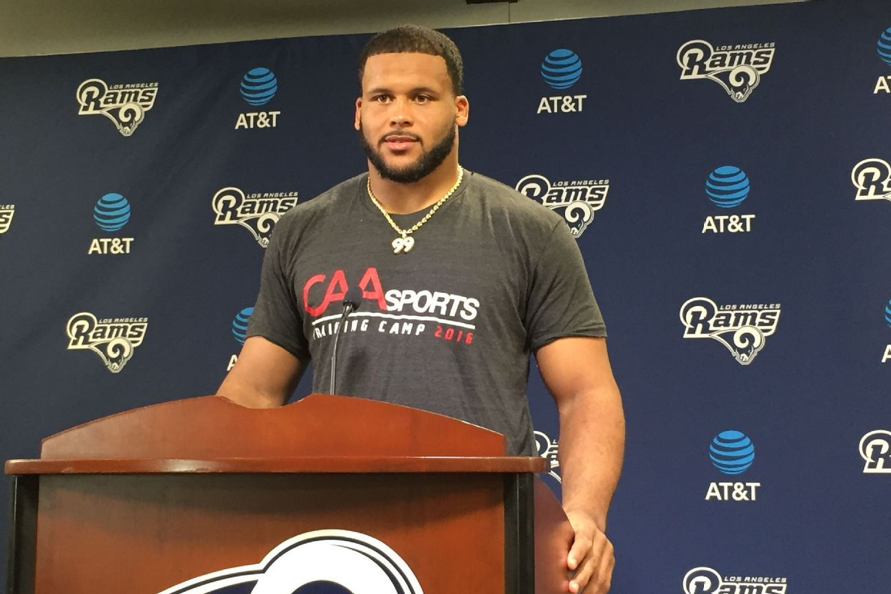 Aaron Donald of Los Angeles Rams Contract status just business