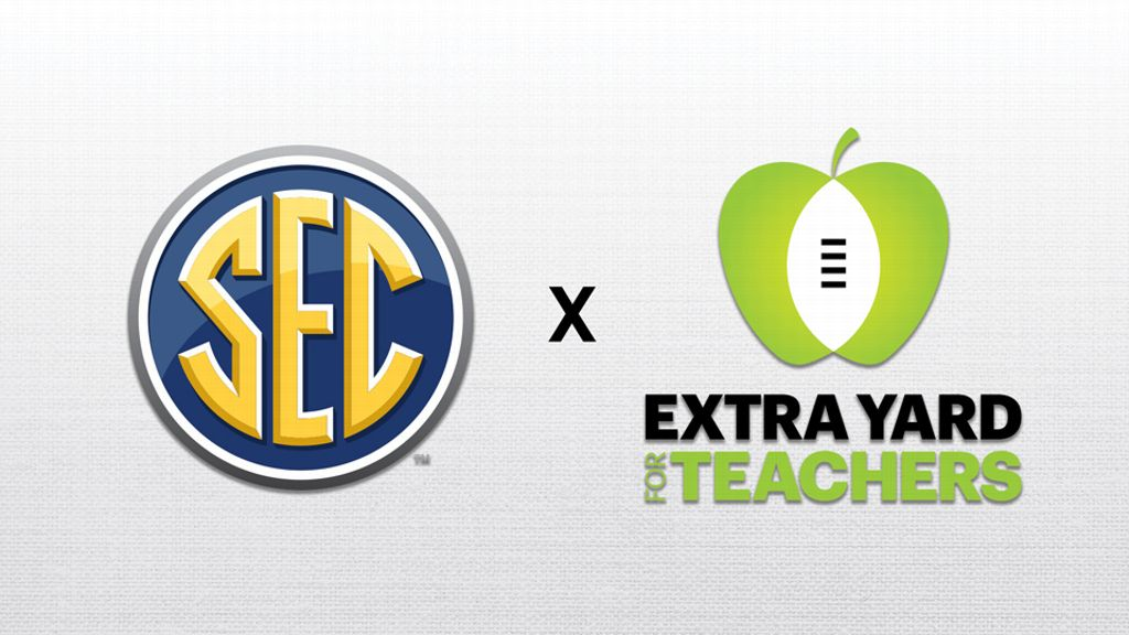 The SEC celebrates Extra Yard for Teachers Week