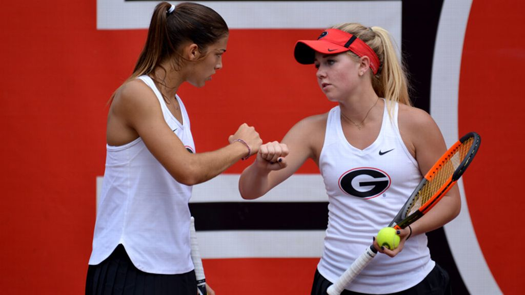 Georgia picked to win 2018 SEC Women's Tennis title
