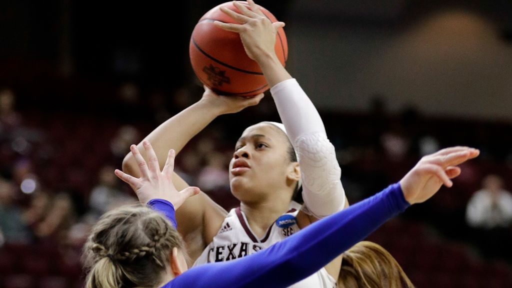 Aggies' Carter named WBCA NCAA DI Freshman of the Year