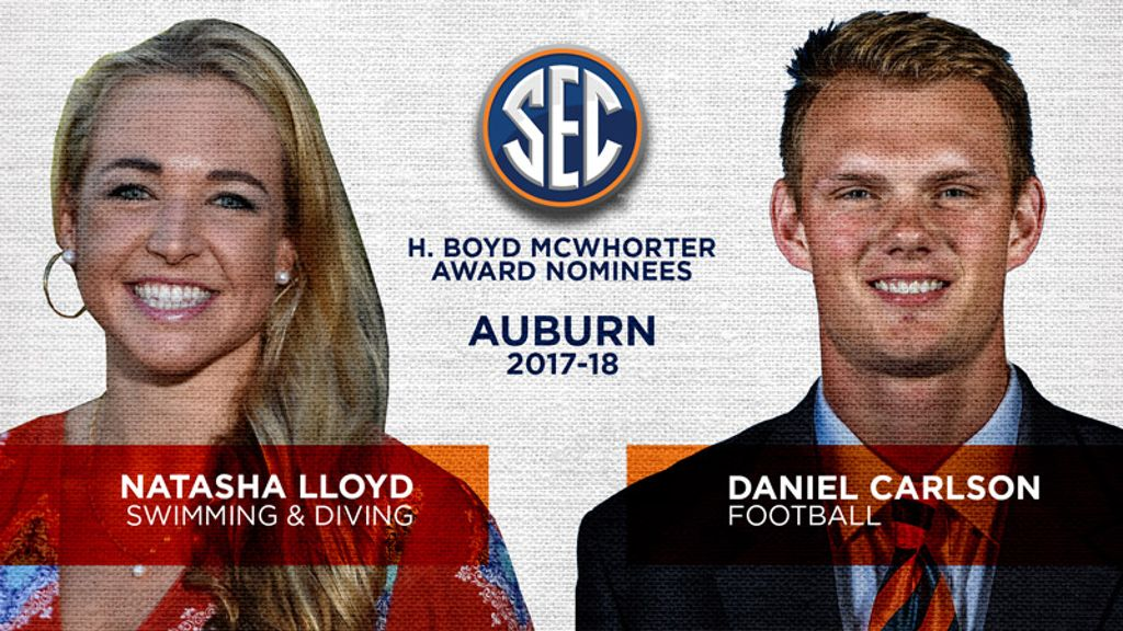 Auburn nominees for McWhorter Award announced