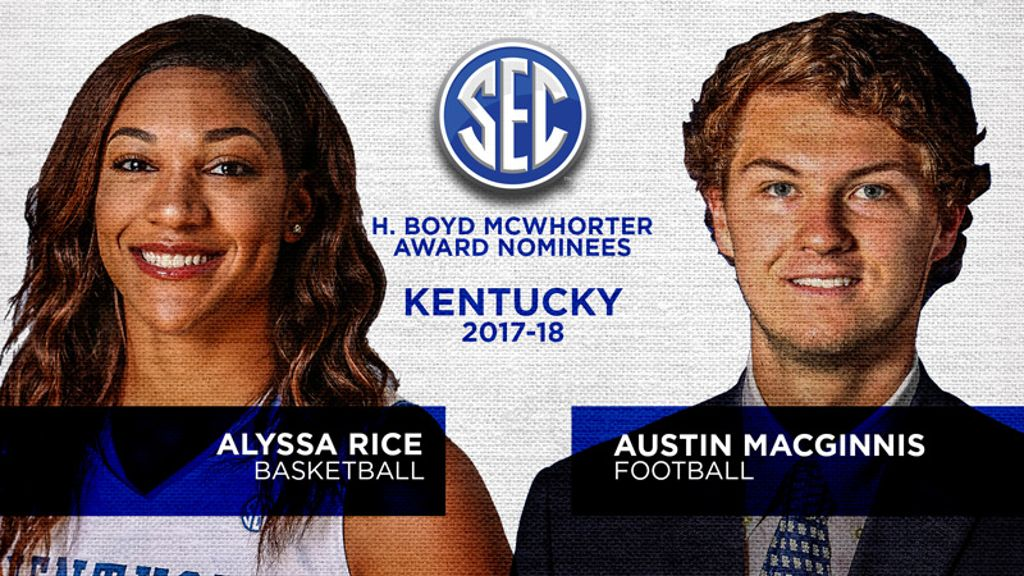 Kentucky nominees for McWhorter Award announced