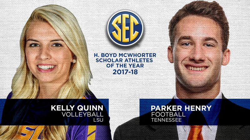 UT's Henry, LSU's Quinn named McWhorter Award winners