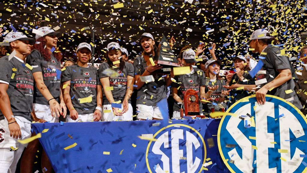 South Carolina wins third straight SEC Championship