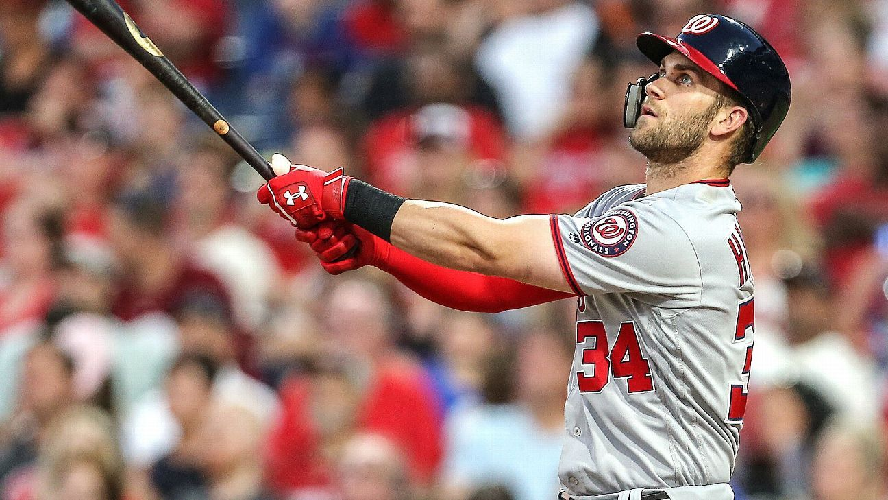 MLB - Will Nationals en realidad trata a Bryce Harper y otras preguntas sobre fechas límite