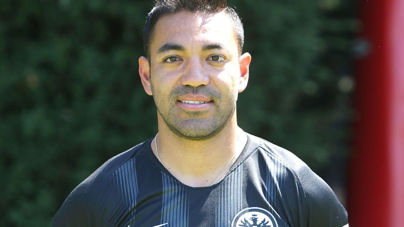 Marco Fabian plays 78 minutes in the defeat of Eintracht Frankfurt