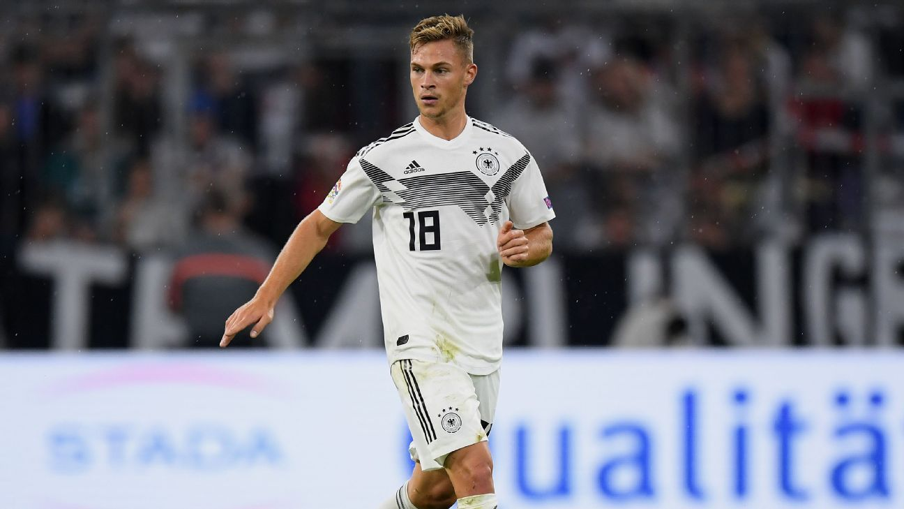 37b01ce36 Kimmich recast in midfield epitomises Germany s rehabilitation