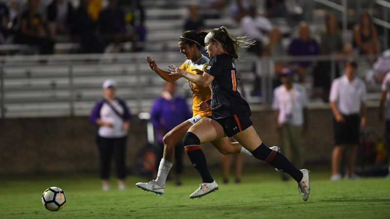 No. 9 Auburn vs. LSU ends in draw
