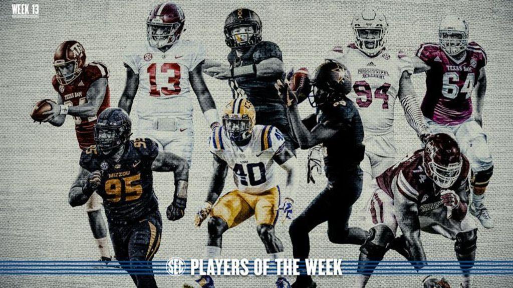 Week 13: Football Players of the Week