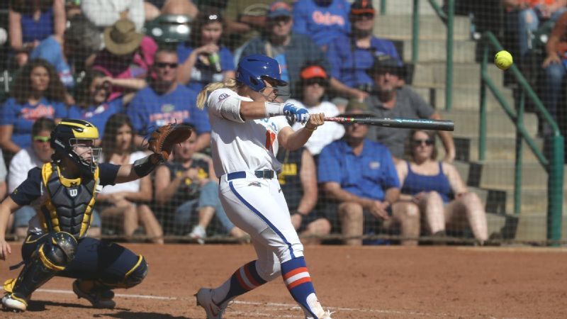 No. 4 Florida run rules San Diego, Utah State
