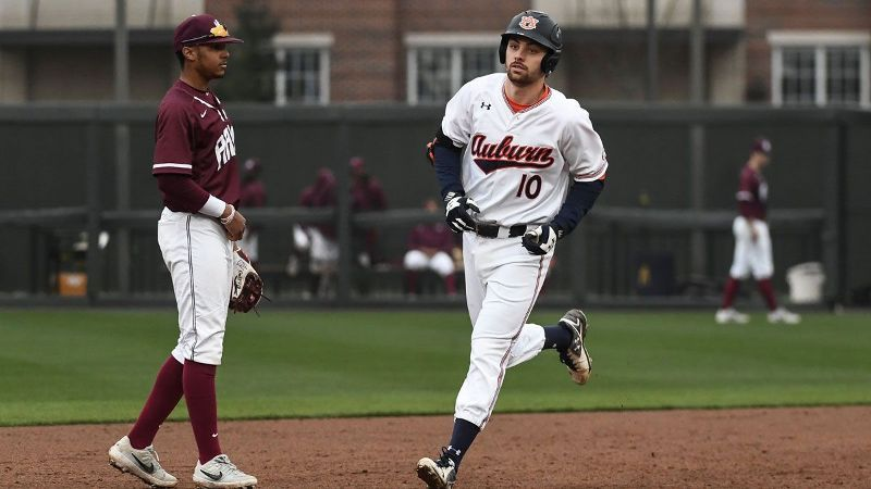 No. 20 Auburn sweeps Alabama A&M