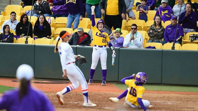 No. 8 LSU blanks No. 7 Florida