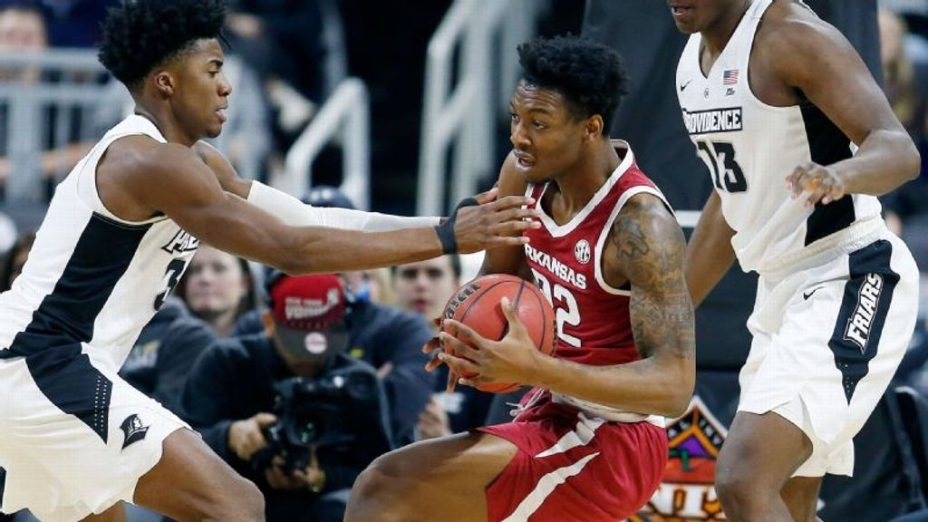 Arkansas pummels Providence in NIT