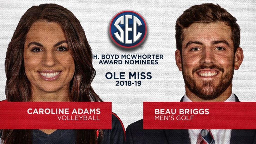 Ole Miss nominees for 2019 McWhorter Award announced