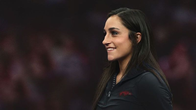 Arkansas hires Jordyn Wieber as gymnastics head coach