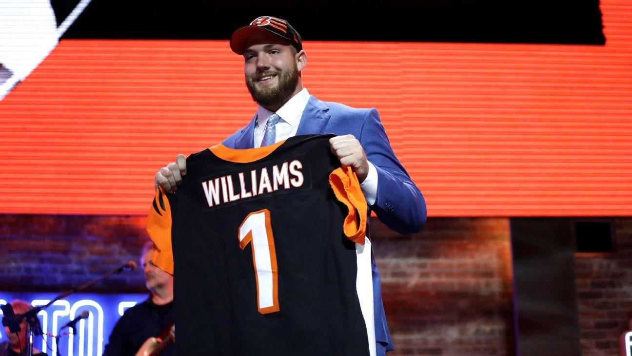 Jonah Williams, OT, Cincinnati Bengals