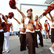 Texas Longhorns cheerleaders