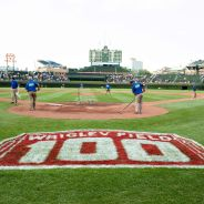ESPN Radio at Wrigley Field